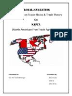 Global Marketing- Nafta trade block trade theory
