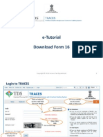 TaxE-Tutorial - Download Form 16