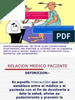 BIOETICA Exposicion Relacion Medico - Paciente