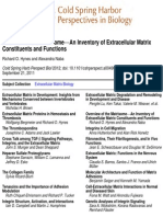 AA.vv - An Inventory of Extracellular Matrix Constituents and Functions