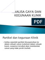 Analisa Gaya Dan Kegunaan Klinik Ppt