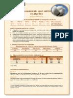 Abonamiento en El Cultivo de Algodon