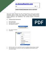 membuat laporan dengan data report.pdf