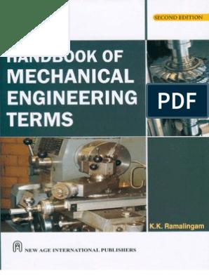 Handbook of Mechanical Engineering Terms   Alloy   Screw