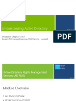 Windows 2012 - Active Directory Rights Management Services