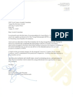 St Pete Young Professionals Letter of Recommendation