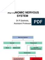 Function autonomic nervous system