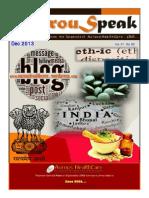 AurouSpeak - V01 Ed 02 - The quarterly newsletter from the Corporate of Aurous HealthCare CRO