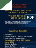 ISO 26000 (4) CD Votación (Marzo 2009) 2009-06 fin