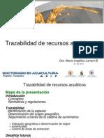 Seminario Trazabilidad de recursos acuáticos 2013 03 21