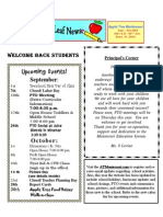 Apple Tree Montessori School Newsletter September 2009