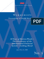 The Importance of the Bretton Woods Institutions