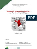 Yohanes Widodo - Internet for Participatory Democracy