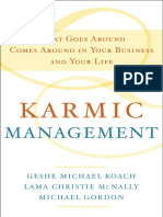 Karmic Management by Geshe Michael Roach - Excerpt