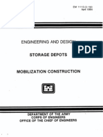 EM 1110-3-150 - Storage Depots - Mobilization Construction 1