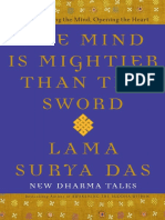 The Mind is Mightier Than the Sword by Lama Surya Das - Excerpt