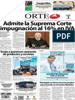 Periódico Norte edición impresa día 3 de enero 2014
