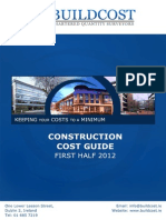 Buildcost Construction Cost Guide 1st Half 2012