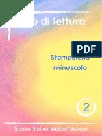 02 - Libro di Lettura in Stampato Minuscolo