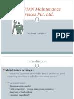 Business Plan-Maintenance Services