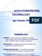 Nanosynergyconcreting Technology
