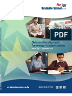 Distance Education Catalog 2012