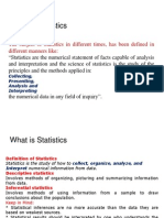 Introduction to Statistics