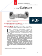 1st Quarter 2014 Lesson 1 Disciples and Scripture