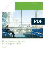 Countries at a Glance Stock Option Plans June 2010