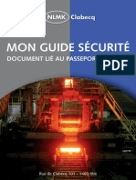 NLMK Clabecq-Guide Securite