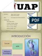 BCM - TECNOLOGÌA DEL ADN RCOMBINANTE.pptx