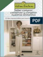 Galiano, Cristina - Saber Comprar, Conservar y Congelar Nuestros Alimentos