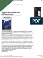 Ambisiøst og uklart om biologisk medisin (2001)