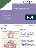 EPA Edemul Pulmonar