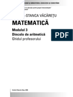 A Doua Sansa Secundar Matematica Profesor 3