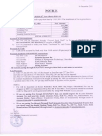Fee Notice PGDM 2012-14 January 2014