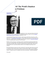 Forbes Milton Friedman