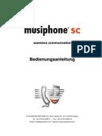 Musiphone user manual