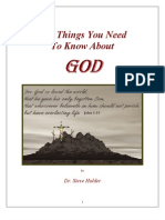 Ten Things You Need to Know About God