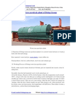 Waste Tyre Pyrolysis Plant of Doing Group