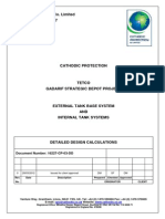 Cathodic Protection Design Calculation