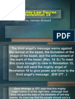 The Sunday-Law Decree and Revelation 18