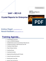 SAP Crystal for Enterprise 4 0