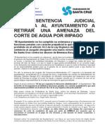 Nota Sentencia Contra Ayuntamiento-emmasa-sacyr