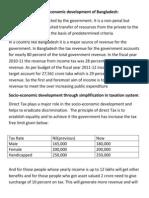 Role of Income Tax in Economic Development of Bangladesh