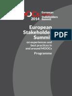 Programme EMOOCs 2014