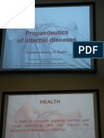 Internal Disease Lecture - 01 Introduction