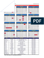 Working Calendar 2014