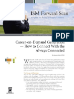 ISM Forward Scan - Career on Demand 2013
