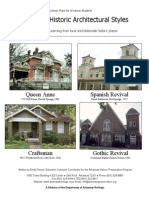 Architectural Styles Lesson Plan